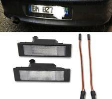 2X PLAFON LED MATRICULA  BMW E63 E64 E81 E87 E85  ASTRA H ,MINI R55 HOMOLOGADOS