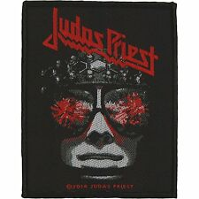 JUDAS PRIEST - HELLBENT FOR LEATHER - WOVEN PATCH - BRAND NEW - MUSIC 2790