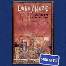 """LOVE/HATE """" BLACK OUT IN THE RED ROOM """" MUSICASSETTA SIGILLATA (LOVE HATE)"""