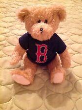 BOSTON RED SOX BEANIE BEAR IN SWEATER ROXBURY FUZZY MLB BASEBALL MASCOT