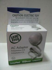 Leap Frog AC Adapter 9V for LeapPad Leapster Explorer POWER SUPPLY ~ NIB