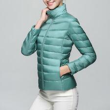 Women Duck Down Puffer Jacket Coat Ultralight Winter Warm Outwear Plus Size