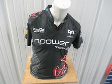 Vintage Kooga Welsh Rugby Union Neath-Swansea Osprey Large Rugby Black Jersey