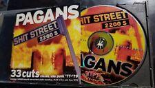 Pagans, Shit Street [PA] (Cleveland) Classic USA PUNK 77-79