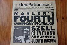 Mahler/Cleveland Orchestra Judith Raskin – Mahler's Fourth Symphony In G Major