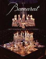BACCARAT: Two Hundred and Fifty Years by Murray Moss Hardcover Book (English)