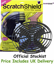 Scratch Shield, Grit Guard Universal Adjustable Wash Bucket Water Filter Black