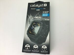 Catalyst Protective Waterproof Case for Apple Watch 44mm series 6 5 4 Stealth BK