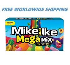 Mike and Ike Mega Mix Assorted Chewy Flavored Candy 5 Oz FREE WORLDWIDE SHIPPING