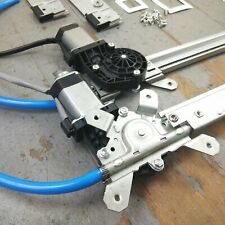 39-56 Mercury Power Window Kit 3 switches flat glass vintage style worm gear