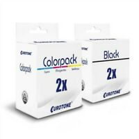 4x Eco Cartridge 2+2 Replaces Canon CL38 PG37 CL-38 PG-37 PG37 CL38 PG-37 CL-38