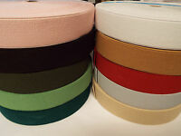 0.5 m x 40mm Multi colour Flat Elastic Very Strong for shoes/backpacks/bags-etc.