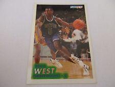 Carte NBA FLEER 1993-94 #127 Doug West Minnesota Timberwolves