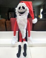 "Disney Nightmare Before Christmas 25 Year Anniversary Jack Skellington 24"" Santa"