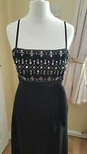 "Ladies ""Debut"" Black Sequined Cocktail Dress (Size 10)"
