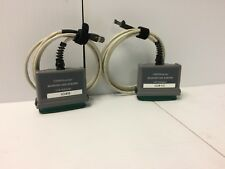 Lot of 2 Fluke Microtest OmniScanner CAT 6 Shielded Link Channel Adapter USED
