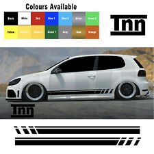 Sticker for VW Polo Golf Lupo GTI GTD R Line Stripes GT Scirocco Decal Vinyl