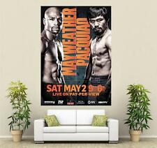Mayweather vs Pacquiao Huge Poster