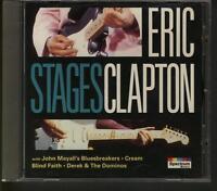ERIC CLAPTON Stages CD Cream Blind Faith Derek & The Dominos John Mayal
