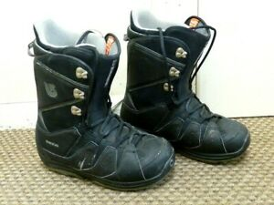 Burton 'Moto' Mens Snowboard Boots - Size: UK 11 - Black - Quick lace system