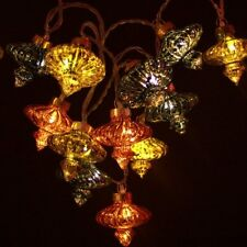 H&H... ANTIQUE KASBAH MOROCCAN STRING LIGHT CHAIN LED FAIRY LIGHTS