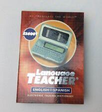 ECTACO ES600T English <-> Spanish Electronic Talking Dictionary