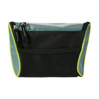 Handlebar Bag with Phone Holder Suitable For Mobile Phones Black Carrier Top R1