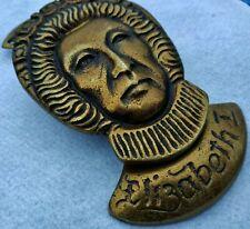 African Tribal Shape Door Knocker Vintage Style Brass Protect Negative Energy BM
