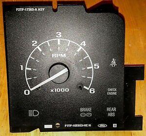 92 93 94 95 96 Ford Truck F150 F250 F350 Bronco Tach/Tachometer Gauge OEM