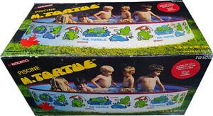 Mr. Turtle Swimming Pool, 1600 cm x 36 cm, Vintage 1986 - Collectible.!! MISB!!