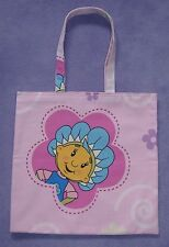 Pink Fifi and the Flowertots Childrens Cotton Shopping bag / Book Bag / Tote Bag