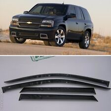 For Chevrolet Trailblazer 2002-2010 Window Visors Sun Rain Guard Vent Deflectors
