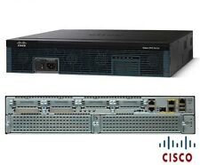 €1675+IVA CISCO2921/K9 Integrated Services Router 3x GbE 512Mb RAM w/AC Poe PWR
