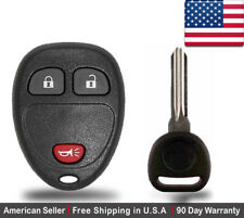 1x New Replacement Keyless Entry Remote Key Fob For Cadillac Chevrolet GMC Buick