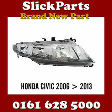HONDA CIVIC HEADLIGHT HEADLAMP 2006 2007 2008 2009 2010 2011 2012 2013 *NEW*