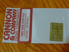 Cannon & Company HO #2028 EMD Side Step Set (Brass)For: Athearn Genesis F45,FP45