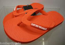 Infradito uomo slippers EMPORIO ARMANI 211301 3P484 T.46 c.00074 rosso red