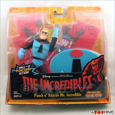 Disney Pixar The Incredibles Mr. Incredible Punch n' Rescue worn box package
