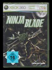 XBOX 360 NINJA BLADE (Nonstop-Action nella battaglia per Tokyo) *** NUOVO ***