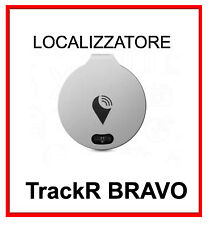 NUOVO trackr BRAVO LOCALIZZATORE tracker - key FINDER ACCIAIO