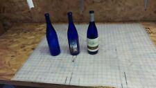 Drilled wine bottles