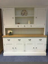 NEW 6' WELSH DRESSER KITCHEN UNIT WITH OAK TOP. CAN BE MADE ANY SIZE OR COLOUR!