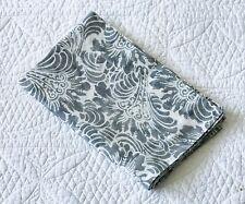 Pottery Barn Mari Gray Reversible Standard Pillow Sham ~ EUC