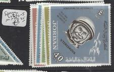 JORDAN  (P2809BB) SPACE  SG 630-5   MNH
