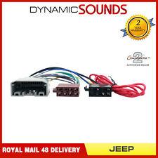 CT20JP03 Autoradio Faisceau de Câblage Iso Adaptateur Câble pour Chrysler, Jeep