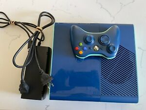 Limited Edition Blue Xbox 360 Console with 500GB HDD upgrade