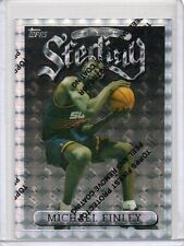 MICHAEL FINLEY Suns 1996/97 Topps Finest Uncommon #122 Silver Refractor Card