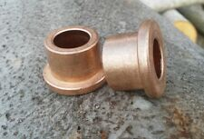"Made In USA 7//16/""x 5//8/""x 1-1//4/"" Lg FB710-10 2pc Bronze Flanged Bushing Oilite"