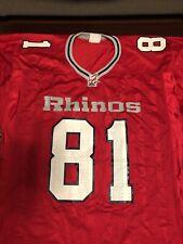 Arena Football Jersey Carolina Rhinos