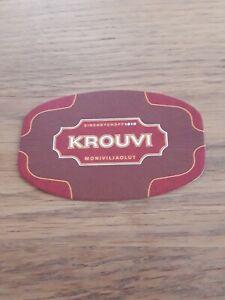 Bierdeckel Schweden Krouvi Sinebrychoff Beercoaster